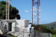 Tower in st marteen